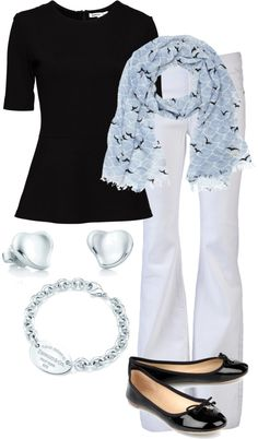 """""""Kate Spade Scarf"""" by vintagesparkles78 ❤ liked on Polyvore"""
