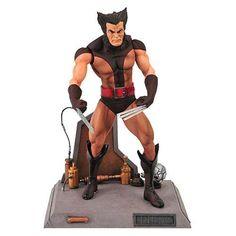X-Men Marvel Select Unmasked Wolverine Action Figure