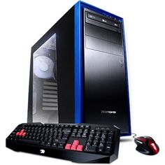 iBUYPOWER Gamer Power WA557APU Desktop PC with AMD A10-6800K Richland Processor, 8GB Memory, 1TB Hard Drive and Windows 8.1 (Monitor Not Included)
