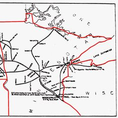 northern+pacific+railroad+maps | The Northern Pacific Railroad System Map. Minnesota n Wisconsin
