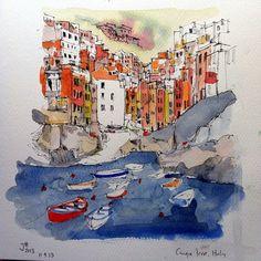 Cinque Terre village | Flickr - Photo Sharing!