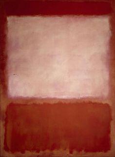 Mark Rothko, #16, Orange, Purple, Orange, 1960, Oil on canvas, 240 x 177,8 cm, Private collection