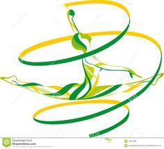 Rhythmic Gymnastics Royalty Free Stock Images - Image: 16810669