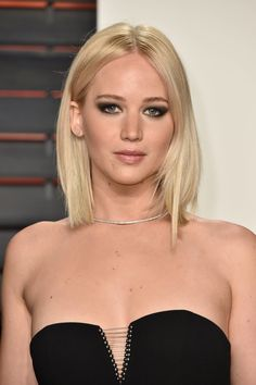 The color: Platinum Blonde Description: Look no further than Jennifer Lawrence for inspiration. Sharon Dorr...