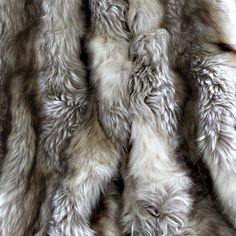 Wild Mannered Luxury Long Hair Faux Fur Lap Throw $191 - Overstock  Fox or raccoon 60 inches wide x 84 inches long