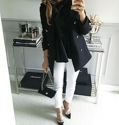 """Mint Label ( """" a nero Business Casual Outfits, Classy Outfits, Chic Outfits, Fall Outfits, Fashion Outfits, Fashion Mode, Office Fashion, Work Fashion, Womens Fashion"""