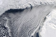 Cloud Streets and Ice in the Barents Sea : Image of the Day : NASA Earth Observatory