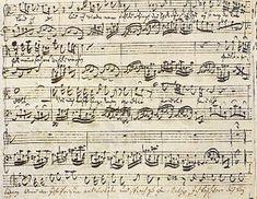 """Ende der Arie Nr. 41 """"Geduld"""" aus der Matthäuspassion BWV 244 von J.S Bach"""