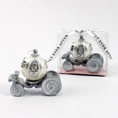 Cinderella Wedding Carriage Candle, Wedding Favor