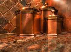 .Copper in the Kitchen.             t