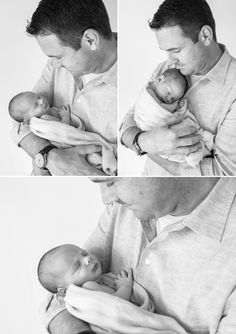 Black and White Photo of Dad and Newborn | Natural Newborn Photography in the Bay Area | Bethany Mattioli Photography