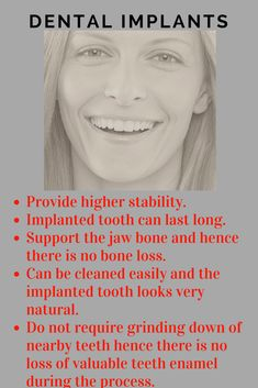 A number of dental problems can spring up when you lose a tooth. These problems can gradually deteriorate your oral health. The chewing efficiency is reduced and the oral cavity becomes prone to infection. Teeth restoration helps patients regain the freedom to eat anything they like.  #dental #dentalimplants #dentistry #teeth #teethcare #PepperPike # Ohio #FreeFirstDental Visit
