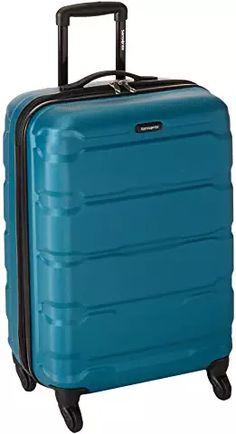 Samsonite Omni PC Hardside Expandable Luggage with Spinner Wheels, Caribbean Blue Luggage Brands, Luggage Store, Luggage Sets, Travel Luggage, Hard Suitcase, Honeymoon Outfits, Kathy Van Zeeland, Hardside Luggage, Luggage Straps
