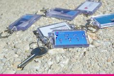 Key Chain - Remember Syros Key Chain, Personalized Items, Gifts, Presents, Favors, Gift