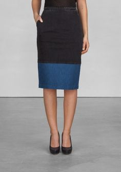 Denim pencil skirt | Denim pencil skirt | & Other Stories