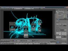 Blender Tutorial: Lightning/Electricity Text Effect