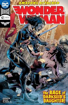 Wonder Woman vs Grail daughter of Darkseid