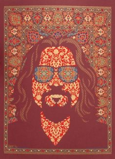 """That rug really tied the room together."" ~The Dude  (via Melvin Tenthof van Noorden)"