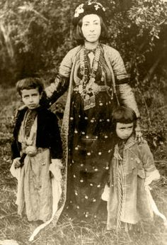 Adela Khanem, Ezzat Beg and Ahmed Beg in 1905. Adela Khanem was the famous and cultured chief of the Jaff tribe, one of the biggest Kurdish tribes, if not the biggest, native to the Zagros area. Today the one part of this area still belongs to the Kurdistan of Iran, the other part belongs to Kurdistan of Iraq.