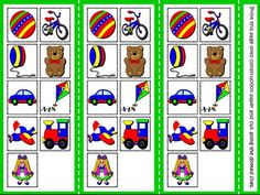 My Toys - Board Game (Picture Cards)