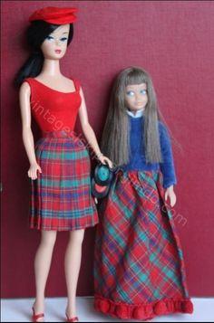 Skipper, Barbie, Francie, Tutti ... matching/coordinating outfits - Skipper Website