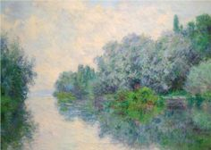 The Seine near Giverny - Claude Monet