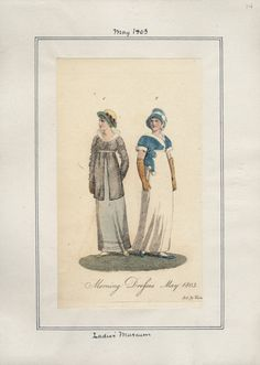 Ladies' Museum, May 1803.
