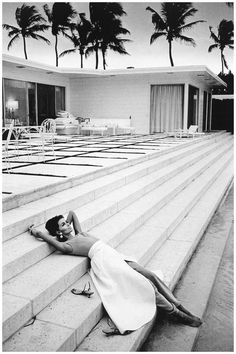 Astrid Heeren photographed by Jeanloup Sieff for Harper's Bazaar, 1964.