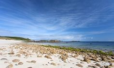 Great Bay beach on St Martins, one of the Isles of Scilly.