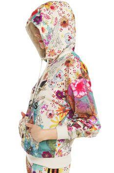 849b6fb30915 Adidas Farm Confetti Trefoil Hoodie - Multicolor