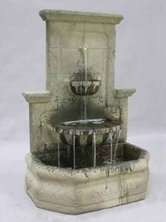 Turn your garden wall or fence into a dynamic work of art with the Augustine Outdoor Wall Water Fountain, a simple yet elegant piece made out of durable cast stone. Tall and stately, this piece will c