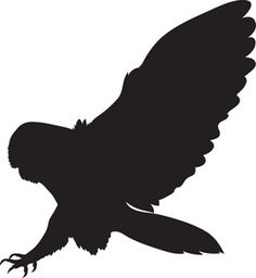 This clip art picture shows a Barn Owl silhouette. This clip art image was created for Acclaim Images by Rosie Piter. Owl Silhouette, Silhouette Tattoos, Silhouette Cameo Projects, Clip Art Pictures, Bird Pictures, Chicken Pictures, Bird Clipart, Free Clipart Images, Illustration Art