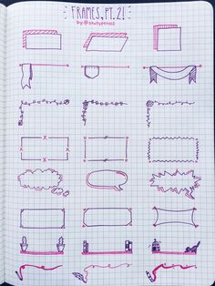 Decoração caderno