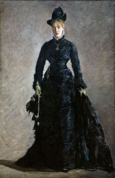 ♥Édouard Manet (French, 1832–1883)  The Parisienne, ca. 1875  Oil on canvas