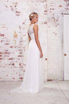 456835583e KAREN WILLIS HOLMES Trinity BACK Colored Wedding Dresses