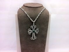 I need more items in this category. This cross pendant is pretty baller.