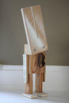 Christie Chase: scrap wood animals