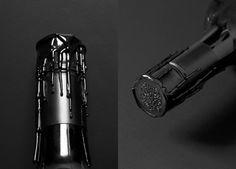 Awesome bottle stamp design #wine #packaging #design