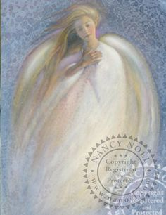Angel in Blue - Angel - The Sanctuary: The Art of Nancy Noel