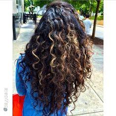Cute Natural Curly Hair