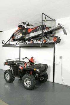 Helgesen Machine Loft It Garage Wall Storage Lift System Motorcycle The