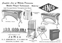 Jenco melody percussion instruments