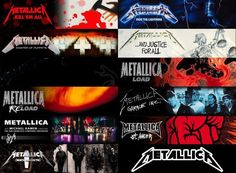 metallica cds in order
