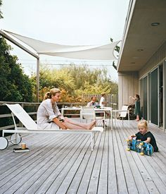 """""""I think an architect's job is to celebrate what people really care about and simplify and streamline the rest,"""" says Page Goolrick,  (Amagansett Beach House)"""