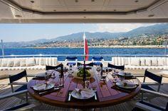 Charter yacht, Mediterranean