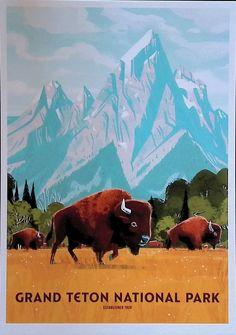 Grand Teton National Park, National Parks, Mountains, Nature, Travel, Cards, Naturaleza, Viajes, Destinations