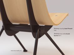 Antony Chair 1950 by Jean Prouve