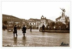 Postcards of the Past - Vintage Postcards of Hull, Yorkshire Hull England, Kingston Upon Hull, East Yorkshire, Historical Pictures, Vintage Postcards, Over The Years, Britain, Period, The Past