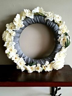 Floral Wreath by BabyJuliette on Etsy