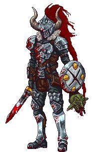 Pixel Goblin Slayer by SteelJoe on DeviantArt - Goblin Slayer Art Kawaii, Kawaii Disney, Anime Pixel Art, Anime Art, Fanarts Anime, Manga Anime, Dark Fantasy, Fantasy Art, Goblin Slayer Meme